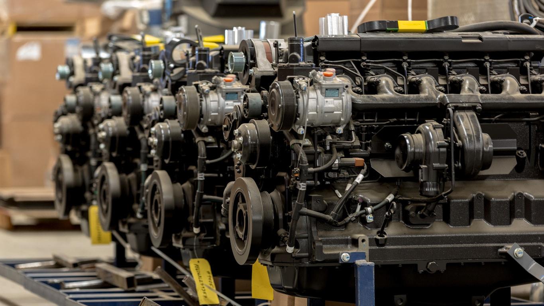 Os motores diesel indústria
