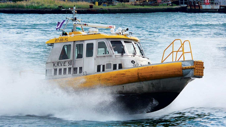 Os motores marítimos John Deere