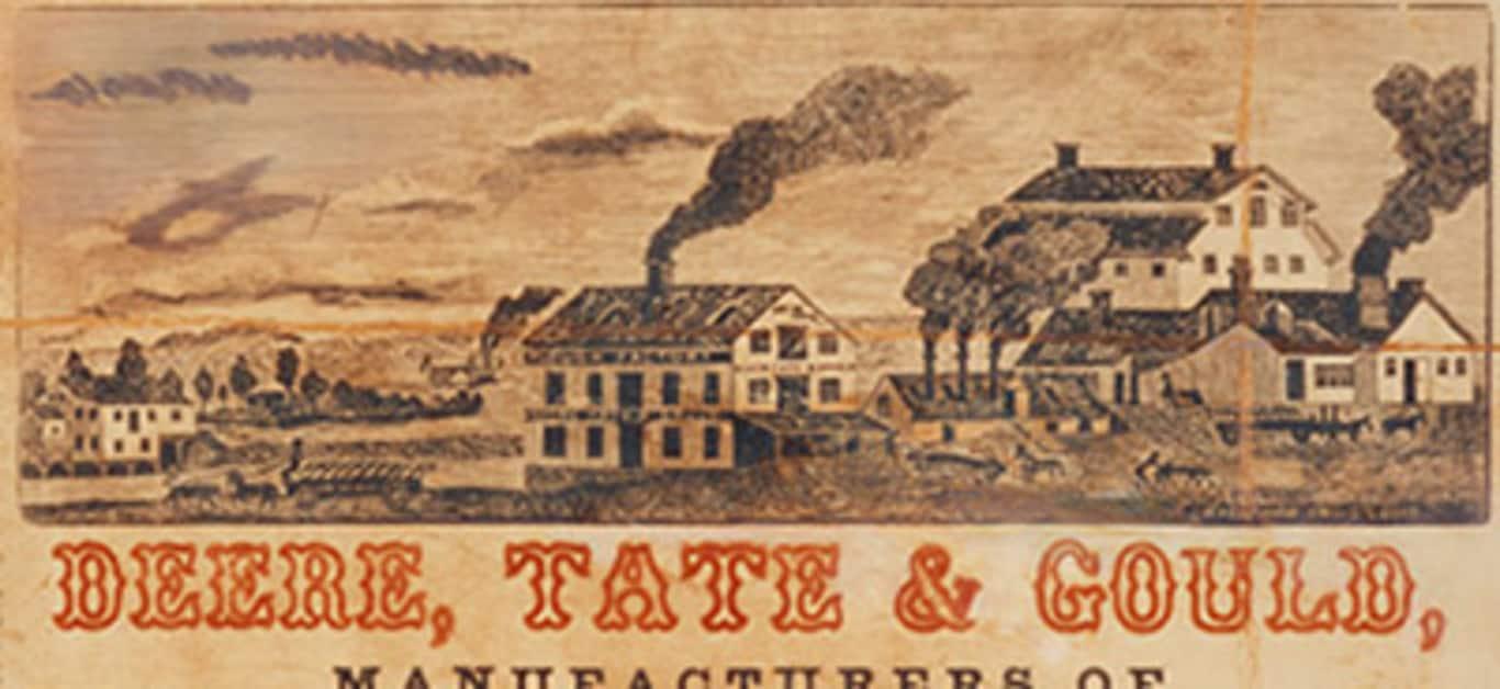 John Deere em Molineem 1848