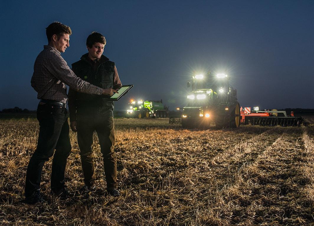 Planeje a sua operação através da integração de dados agronômicos e de execução em uma única plataforma.