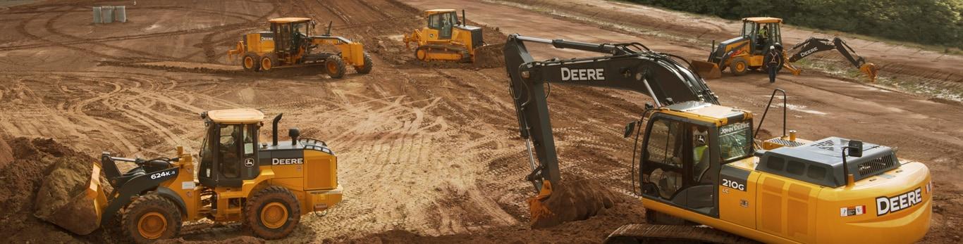 Máquinas pesadas e equipamentos para construção