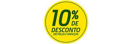 10% de Desconto em Peças e Serviços