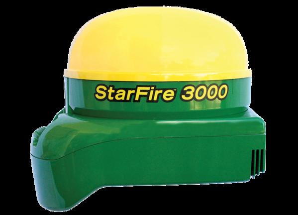 Imagem de estúdio StarFire™ 3000 Receptor.