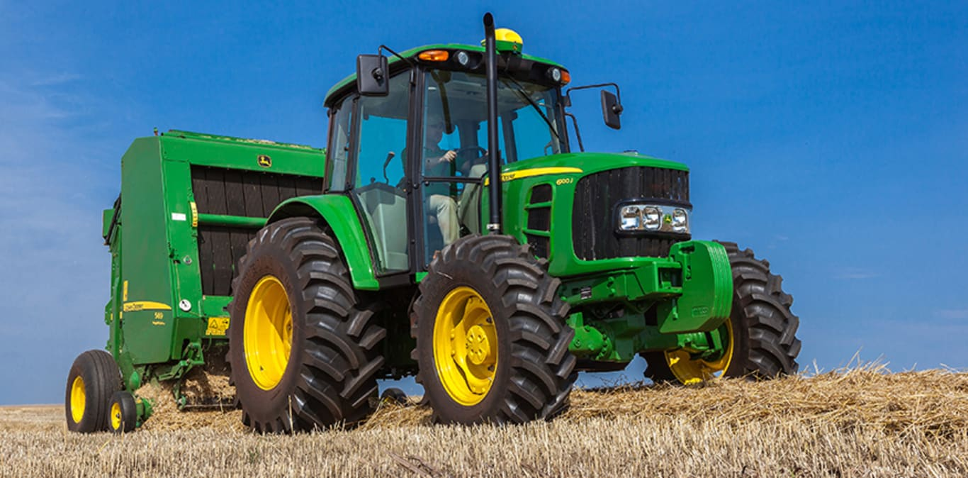 Máquinas agrícolas John Deere